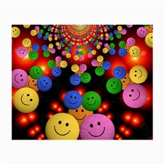 Smiley Laugh Funny Cheerful Small Glasses Cloth