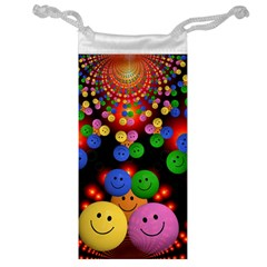 Smiley Laugh Funny Cheerful Jewelry Bag