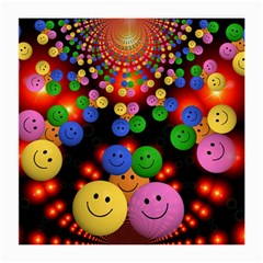 Smiley Laugh Funny Cheerful Medium Glasses Cloth (2-Side)