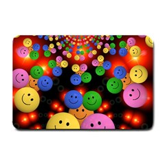 Smiley Laugh Funny Cheerful Small Doormat
