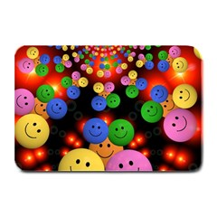 Smiley Laugh Funny Cheerful Plate Mats