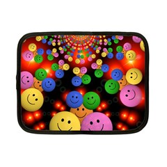Smiley Laugh Funny Cheerful Netbook Case (small)