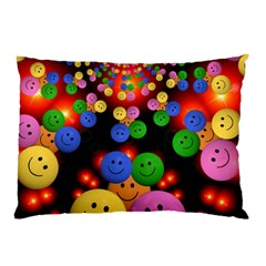 Smiley Laugh Funny Cheerful Pillow Case