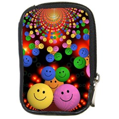 Smiley Laugh Funny Cheerful Compact Camera Cases