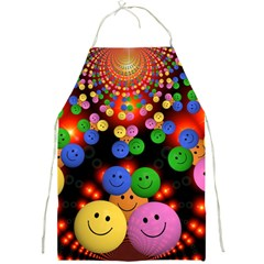 Smiley Laugh Funny Cheerful Full Print Aprons
