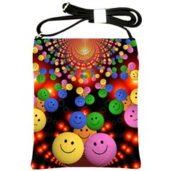 Smiley Laugh Funny Cheerful Shoulder Sling Bags