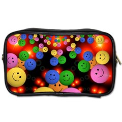 Smiley Laugh Funny Cheerful Toiletries Bags