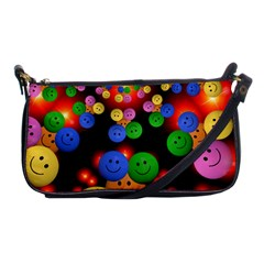 Smiley Laugh Funny Cheerful Shoulder Clutch Bags