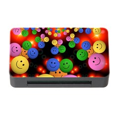Smiley Laugh Funny Cheerful Memory Card Reader With Cf