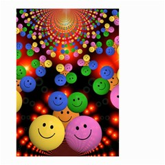 Smiley Laugh Funny Cheerful Small Garden Flag (Two Sides)