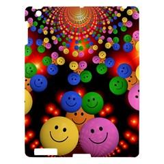 Smiley Laugh Funny Cheerful Apple iPad 3/4 Hardshell Case