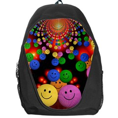 Smiley Laugh Funny Cheerful Backpack Bag