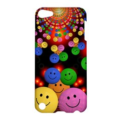 Smiley Laugh Funny Cheerful Apple Ipod Touch 5 Hardshell Case