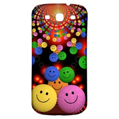 Smiley Laugh Funny Cheerful Samsung Galaxy S3 S Iii Classic Hardshell Back Case
