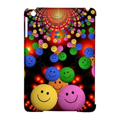 Smiley Laugh Funny Cheerful Apple Ipad Mini Hardshell Case (compatible With Smart Cover)