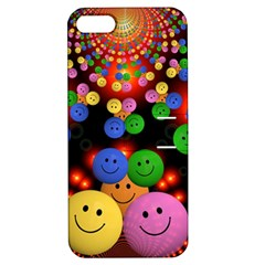 Smiley Laugh Funny Cheerful Apple iPhone 5 Hardshell Case with Stand