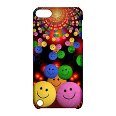 Smiley Laugh Funny Cheerful Apple Ipod Touch 5 Hardshell Case With Stand