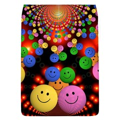 Smiley Laugh Funny Cheerful Flap Covers (L)