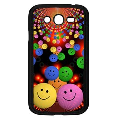 Smiley Laugh Funny Cheerful Samsung Galaxy Grand Duos I9082 Case (black)