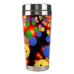 Smiley Laugh Funny Cheerful Stainless Steel Travel Tumblers