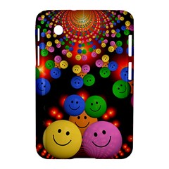 Smiley Laugh Funny Cheerful Samsung Galaxy Tab 2 (7 ) P3100 Hardshell Case