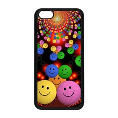 Smiley Laugh Funny Cheerful Apple Iphone 5c Seamless Case (black)