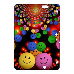 Smiley Laugh Funny Cheerful Kindle Fire Hdx 8 9  Hardshell Case