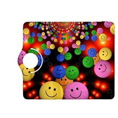 Smiley Laugh Funny Cheerful Kindle Fire Hdx 8 9  Flip 360 Case