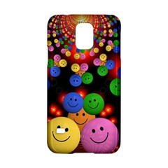 Smiley Laugh Funny Cheerful Samsung Galaxy S5 Hardshell Case