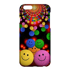 Smiley Laugh Funny Cheerful Apple Iphone 6 Plus/6s Plus Hardshell Case