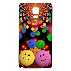 Smiley Laugh Funny Cheerful Galaxy Note 4 Back Case