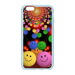 Smiley Laugh Funny Cheerful Apple Seamless iPhone 6/6S Case (Color)