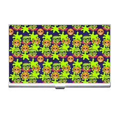 Smiley Background Smiley Grunge Business Card Holders