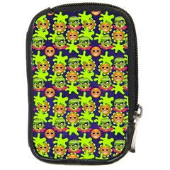 Smiley Background Smiley Grunge Compact Camera Cases