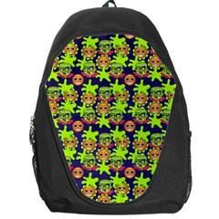 Smiley Background Smiley Grunge Backpack Bag