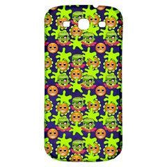 Smiley Background Smiley Grunge Samsung Galaxy S3 S Iii Classic Hardshell Back Case