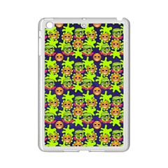 Smiley Background Smiley Grunge Ipad Mini 2 Enamel Coated Cases