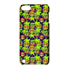 Smiley Background Smiley Grunge Apple Ipod Touch 5 Hardshell Case With Stand