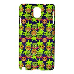 Smiley Background Smiley Grunge Samsung Galaxy Note 3 N9005 Hardshell Case