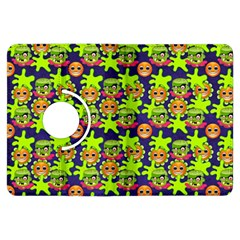Smiley Background Smiley Grunge Kindle Fire Hdx Flip 360 Case