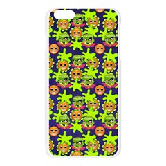 Smiley Background Smiley Grunge Apple Seamless iPhone 6 Plus/6S Plus Case (Transparent)