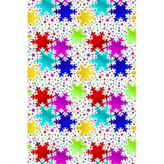 Snowflake Pattern Repeated 5.5  x 8.5  Notebooks