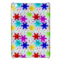 Snowflake Pattern Repeated Apple Ipad Mini Hardshell Case