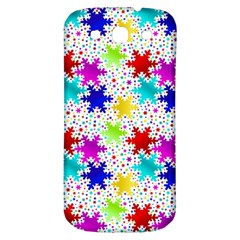 Snowflake Pattern Repeated Samsung Galaxy S3 S Iii Classic Hardshell Back Case