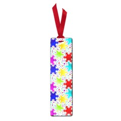 Snowflake Pattern Repeated Small Book Marks