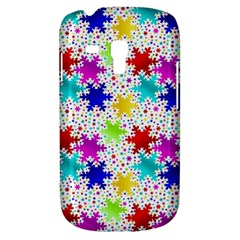Snowflake Pattern Repeated Galaxy S3 Mini