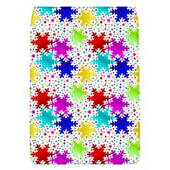 Snowflake Pattern Repeated Flap Covers (S)