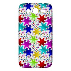 Snowflake Pattern Repeated Samsung Galaxy Mega 5.8 I9152 Hardshell Case
