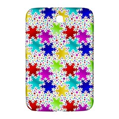 Snowflake Pattern Repeated Samsung Galaxy Note 8 0 N5100 Hardshell Case