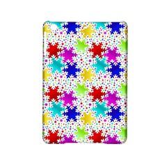 Snowflake Pattern Repeated Ipad Mini 2 Hardshell Cases